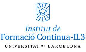 Logo del Institut de formació contínua IL3 Unioversitat de Barcelona